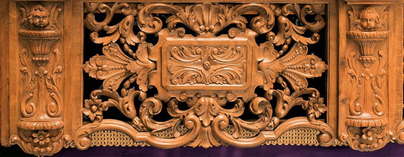 Presentación de la restauración del Grupo Escultórico de La Caída